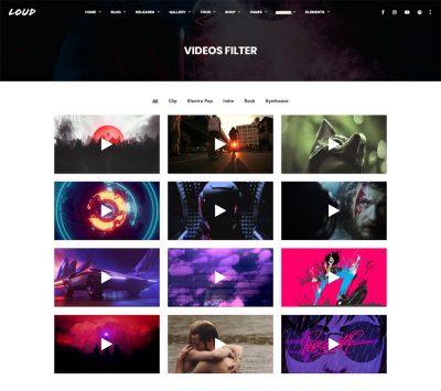 Videos-Filter---Loud
